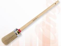 Pennellotto tondo s.121/3, setola bionda 45 mm