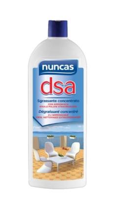 DSA sgrassante concentrato con ammoniaca – Nuncas