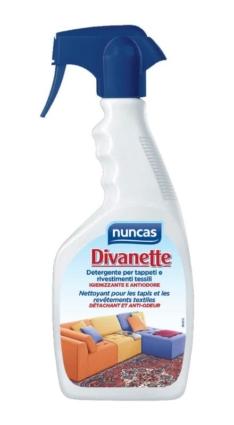 Divanette detergente spray per rivestimenti tessili – Nuncas