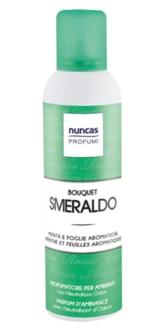 Bouquet profumatori spray per ambiente, 5 profumazioni, 250ml – Nuncas
