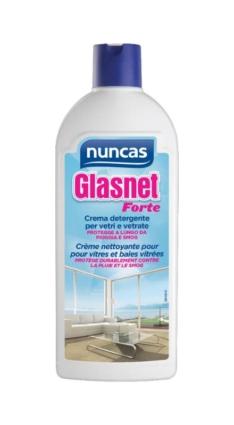 Glasnet forte crema detergente per vetri e vetrate – Nuncas