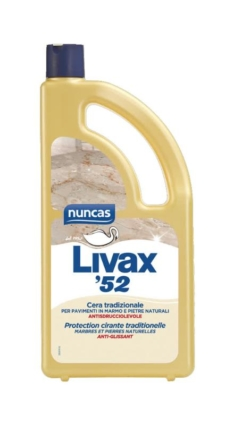Livax 52 cera per pavimenti in marmo e pietre naturali – Nuncas