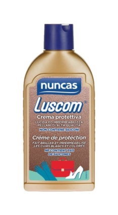Luscom crema protettiva per oggetti in pelle – Nuncas