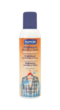 Rinfresca giacche e tessuti 250 ml – Nuncas