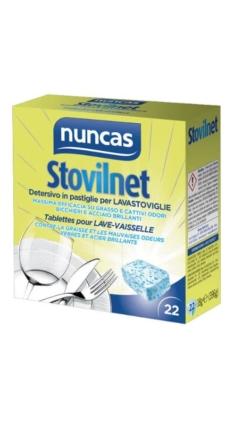 Stovilnet detersivo in pastiglie per lavastoviglie – Nuncas